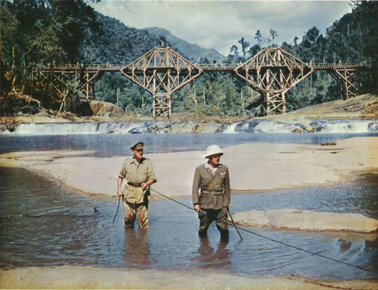 1957 Academy Award winning film Bridge On The River Kwai